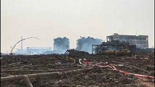 چین؛ ساکنان یانچنگ گرفتار آلودگیهای ناشی از انفجار کارخانۀ مواد شیمیایی