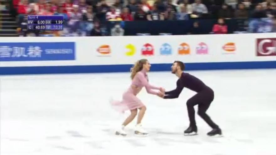France takes gold at World Figure Skating Championships