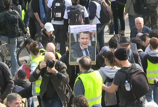 ممانعت از ورود جلیقهزردها به شانزهلیزه در تظاهرات هفته نوزدهم