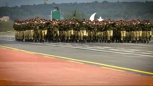 ویدئو؛ رژه ارتش پاکستان در «روز جمهوری»