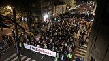 Protestos voltam a agitar Sérvia e Montenegro