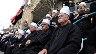 شاهد: احتجاج الدروز على دعم ترامب لسيادة إسرائيل على الجولان
