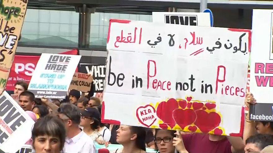شاهد: مسيرات ضد العنصرية بنيوزيلندا تكريما لضحايا كرايستشيرش