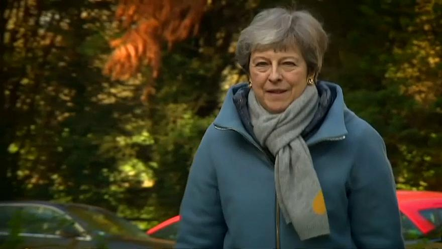 Brexit: Theresa May's week of uncertainty after politically-charged weekend
