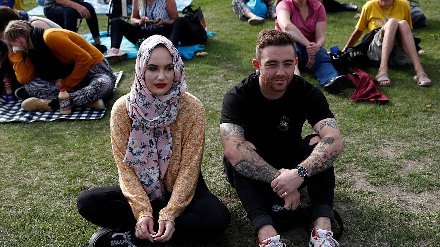 چهلهزار نیوزیلندی یاد قربانیان حملات تروریستی به مساجد را گرامی داشتند