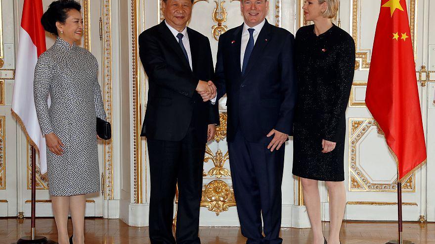 Monacóban folytatódott a kínai elnök európai körútja