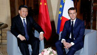 Çin Devlet Başkanı Şi Cinping Monako ziyareti sonrası Macron ile bir araya geldi