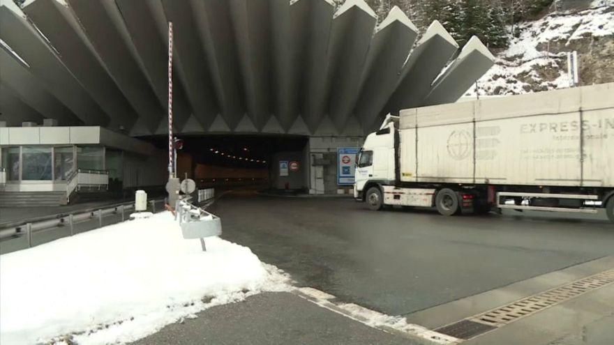 Hommage pour les vingt ans de la catastrophe du tunnel du Mont Blanc