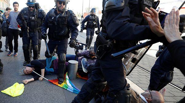Gilets jaunes : une enquête ouverte à Nice