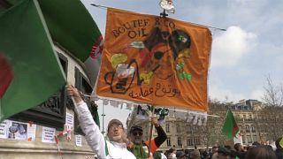 مظاهرات الجزائريين في فرنسا