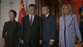 Dopo l'Italia, il presidente cinese arriva in Francia