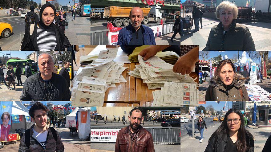 Video: Yerel seçimlere sayılı günler kala İstanbullu seçmenin nabzını tuttuk