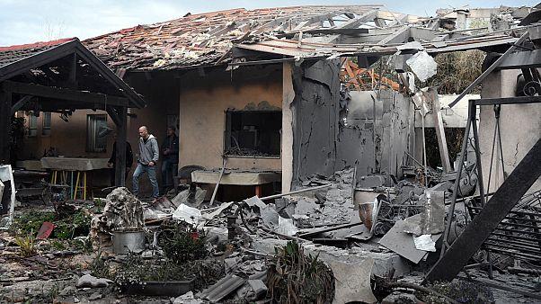 حمله هوایی به مرکز اسرائیل