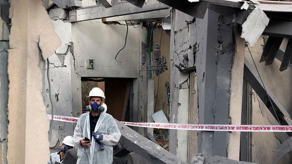 Gázából indított rakéta csapódott egy izraeli házba