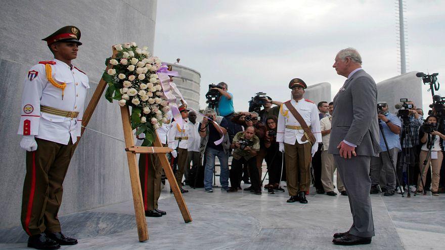 شاهد: ولي عهد بريطانيا في زيارة تاريخية لكوبا لتوطيد العلاقات الثنائية