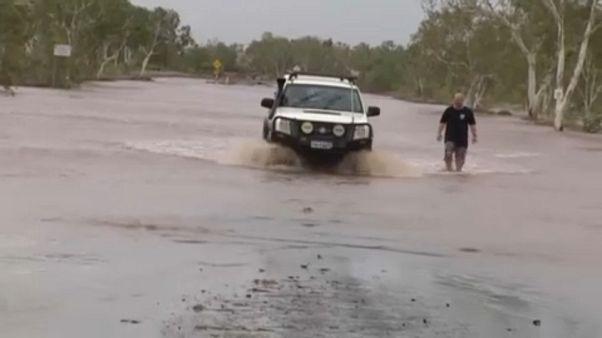 Két ciklon egyszerre Ausztráliában