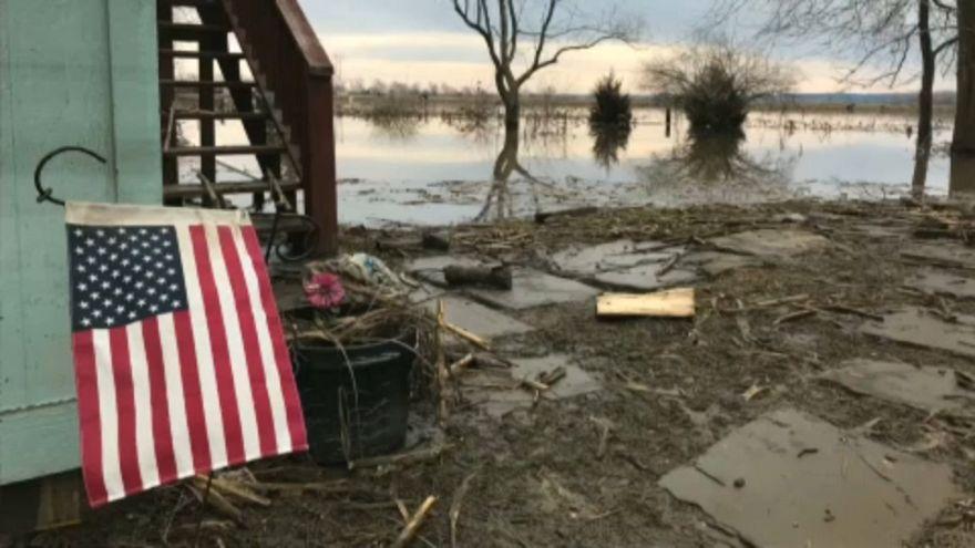 Pusztító árvíz az amerikai középnyugaton