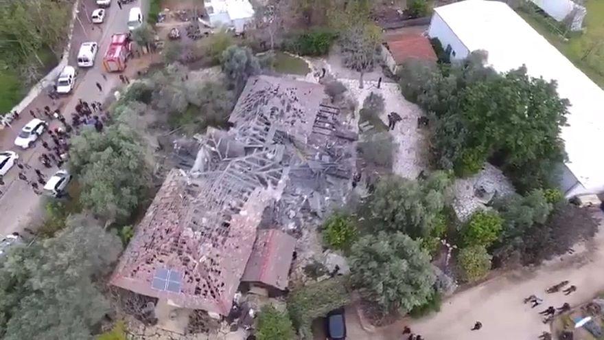 تدمير منزل قرب تل أبيب إثر هجوم صاروخي