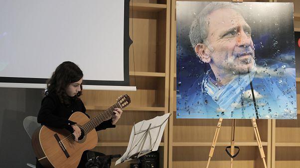 Τελετή μνήμης για τον Γιάννη Μπεχράκη