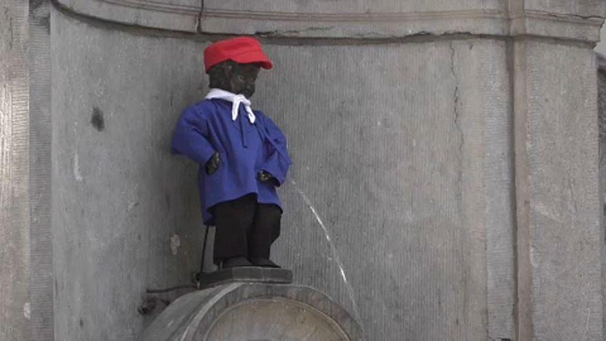 Писающий мальчик будет экономить воду