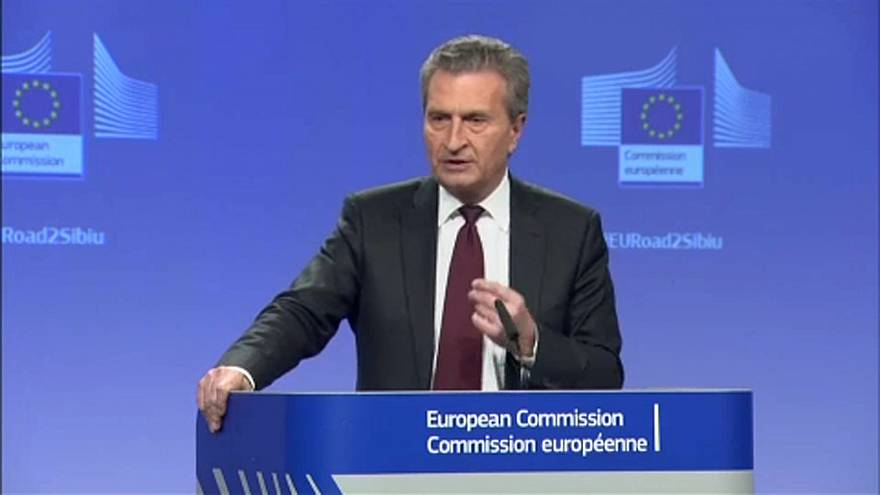 Oettinger contra acordo de investimento Itália-China