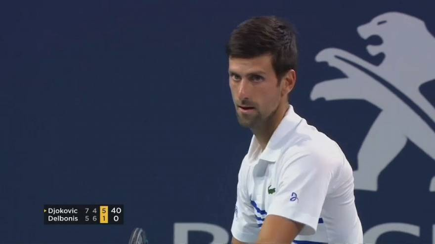 "Open de Miami : Djokovic a ""perdu sa concentration"""