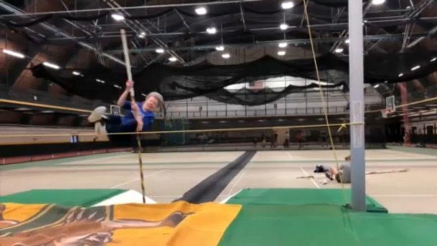 Flo, la atleta de 84 años