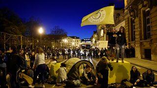 Des militants écologistes à Bruxelles