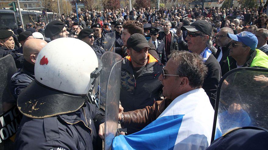 25η Μαρτίου: Συνθήματα στην Θεσσαλονίκη, επεισόδια στην Καλλιθέα