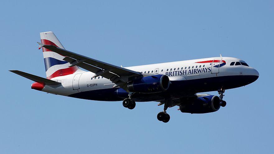 طائرة تابعة لشركة الطيران البريطانية