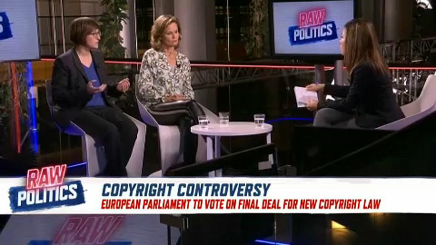 Raw Politics: MEPs discuss upcoming copyright directive