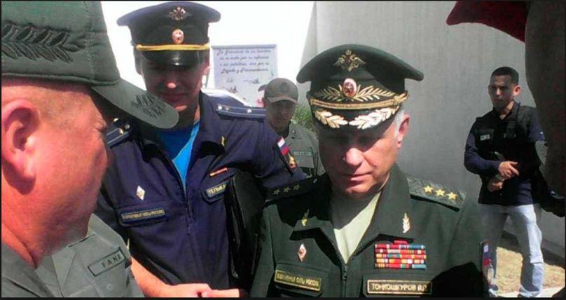 Aerei militari russi atterrano in Venezuela trasportando truppe: relazion