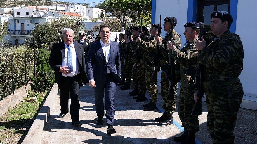 Tsipras' Hubschrauber wird von türkischen Kampfjets bedrängt