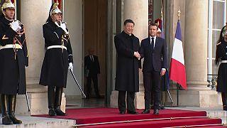 Xi et Macron défendent le multilatéralisme