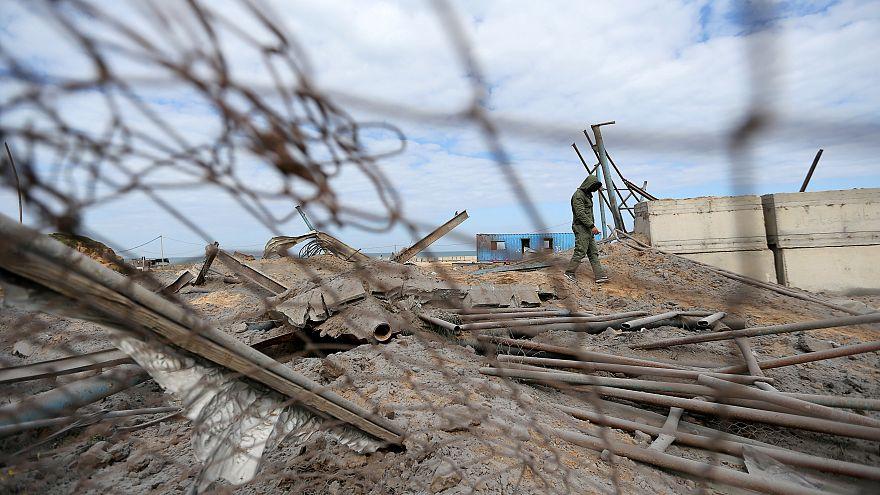 Επίθεση των ισραηλινών δυνάμεων κατά στόχων της Χαμάς στη Γάζα