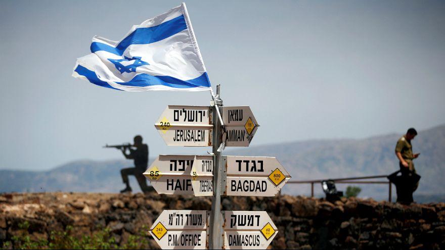 ترامپ با امضای فرمانی حاکمیت اسرائیل بر بلندی های جولان را به رسمیت شناخت