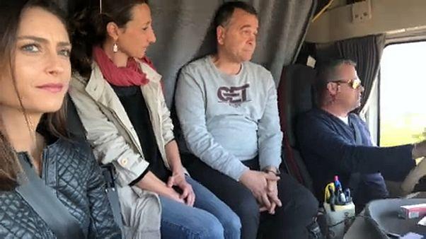 Предвыборное путешествие по Европе: по Испании с дальнобойщиками