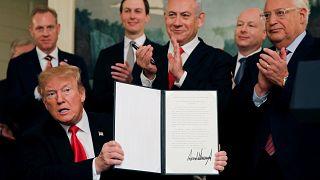 Turquía y Siria critican la postura de EE UU sobre los Altos del Golán