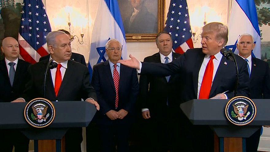 Kritik an Trumps Entscheidung zu Golan-Höhen