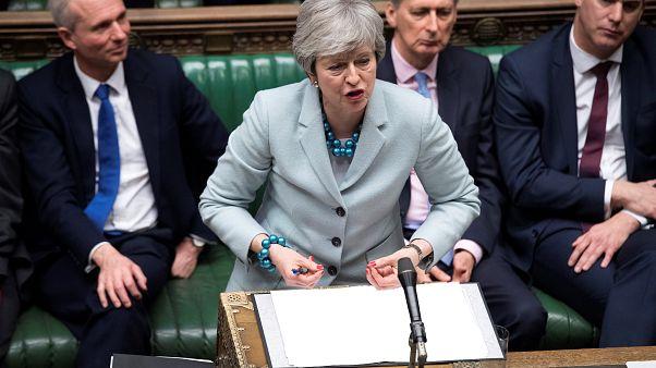 El Parlamento arrebata el timón del Brexit a Theresa May