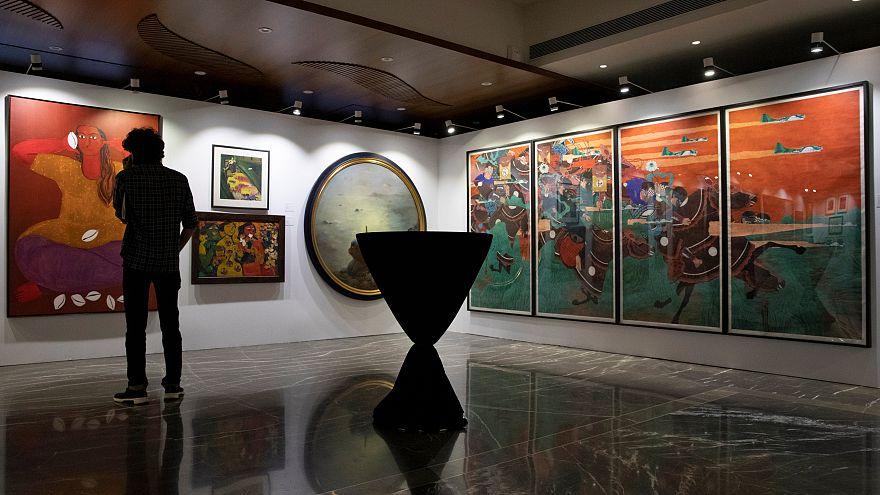 Hindistan'ın en büyük banka dolandırıcılığıyla suçlanan Modi'nin sanat koleksiyonu açık artırmada
