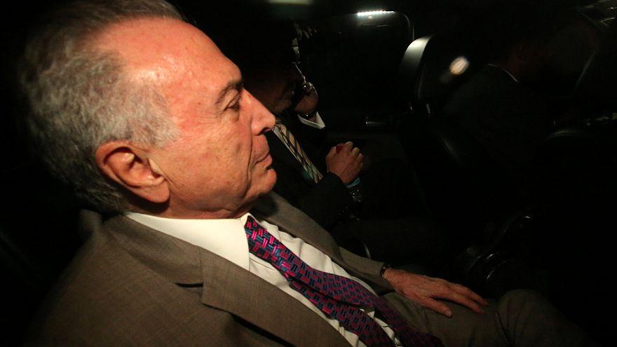 Michel Temer já está em casa, em São Paulo