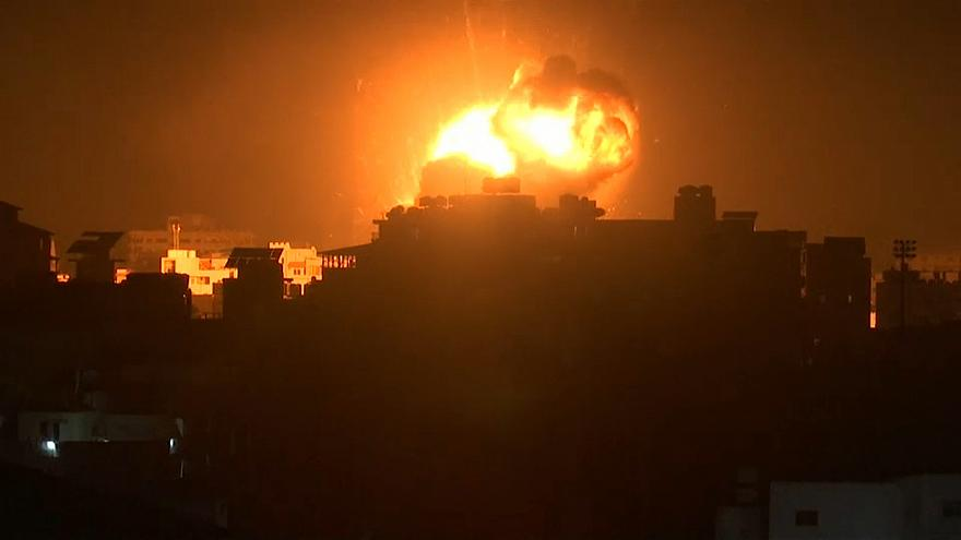 Israel launches air strikes on Gaza over missile attack