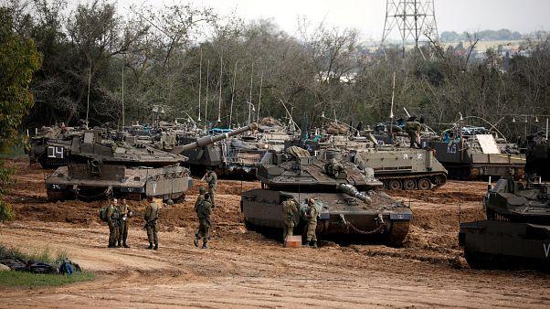 Háborús hangulat a Gázai övezetnél