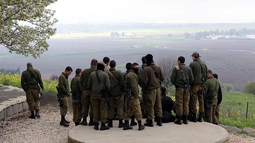 جنود إسرائيليون في الجولان المحتل