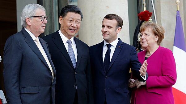 Paris'te düzenlenen AB-Çin zirvesinden 'güvene dayalı işbirliği' çağrısı çıktı