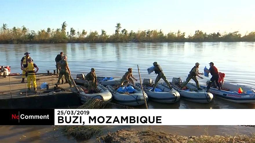 В Мозамбик прибыла гуманитарная помощь
