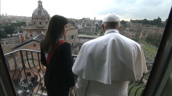 Rome : le pape pour l'intégration des migrants