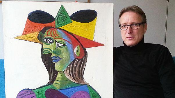 Picasso'nun 20 yıl önce çalınan tablosunu 'Indiana Jones' buldu