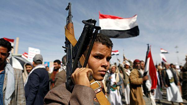 چهارمین سالگرد جنگ یمن؛ اجتماع بزرگ حامیان حوثی ها در صنعا